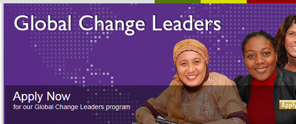 Global Change Leaders Application Forms & References