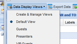 Customizable views ensure your using a layout that works for you.