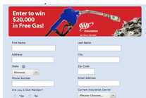 Insurance Contest Form by AAA Arizona